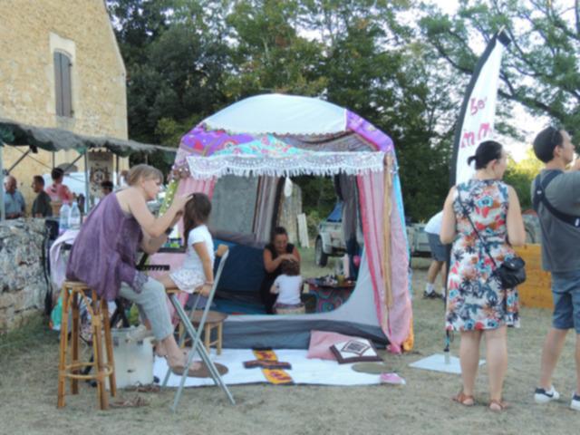 La tente bohème